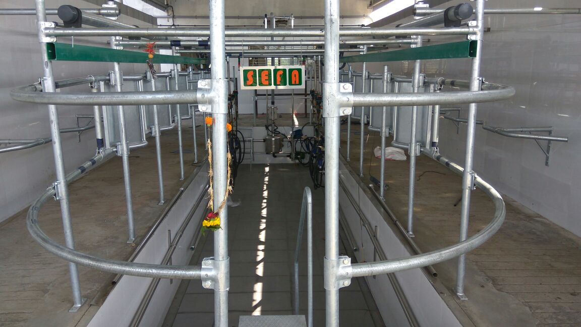 2X3 Exp Upto 2X6 Automatic milking parlor 2